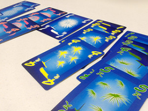 In Hanabi, the primary experience is not about collecting cards in numeric order.