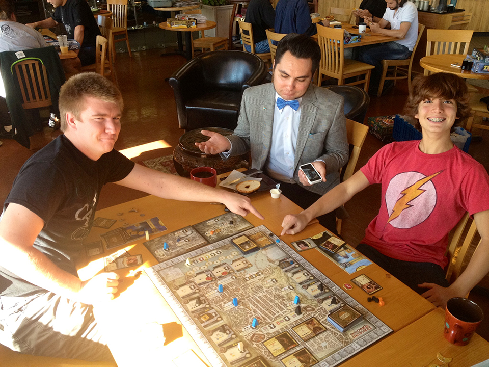 Lords of Waterdeep at Cafe Noir