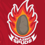 Blazing Spuds, a fast-paced hot potato race!