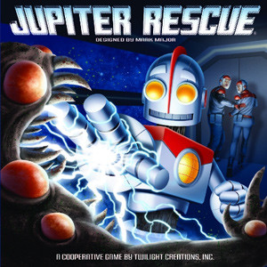 Jupiter Rescue, a cooperative space adventure.