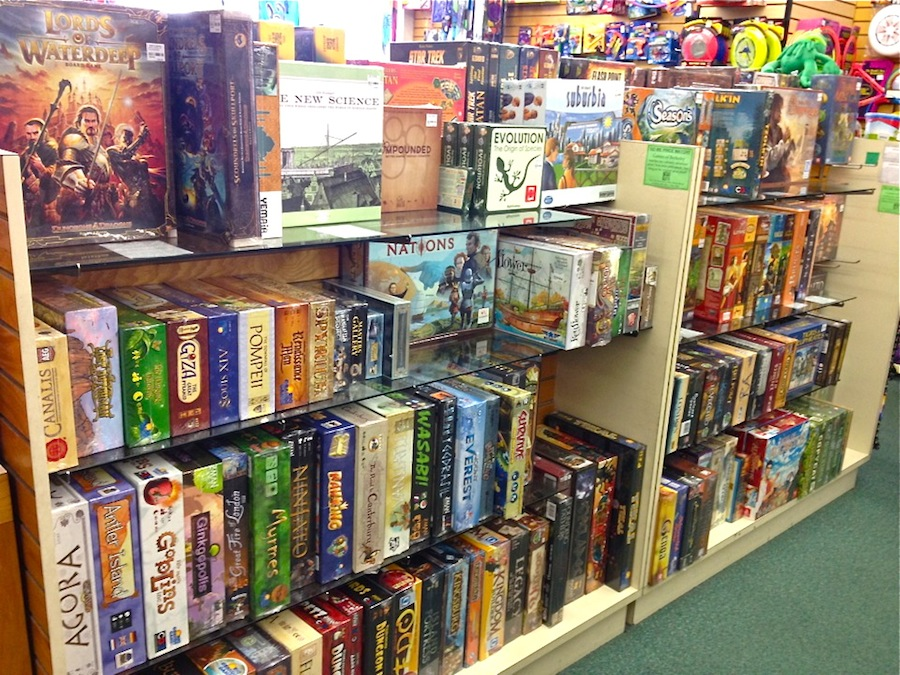 Games in Store