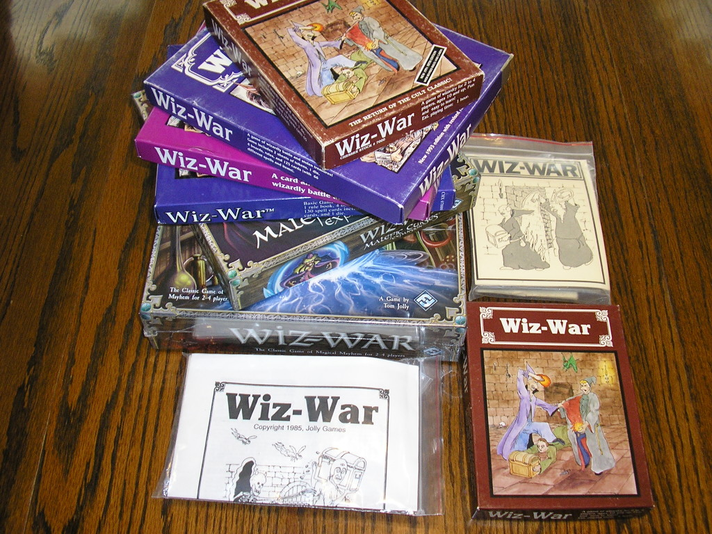 Wiz-War in its various incarnations.