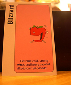 Apples to Apples card