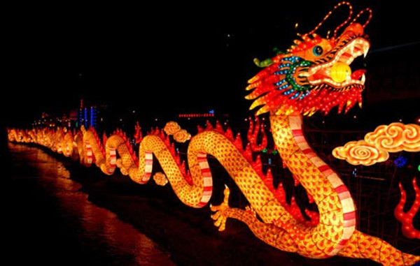 chinese dragon new year themes