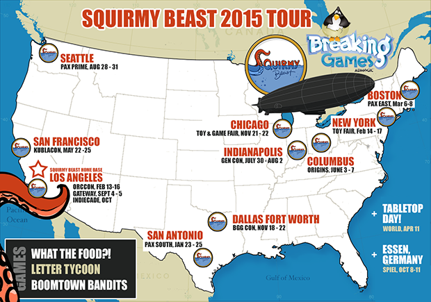 Squirmy Beast 2015 events