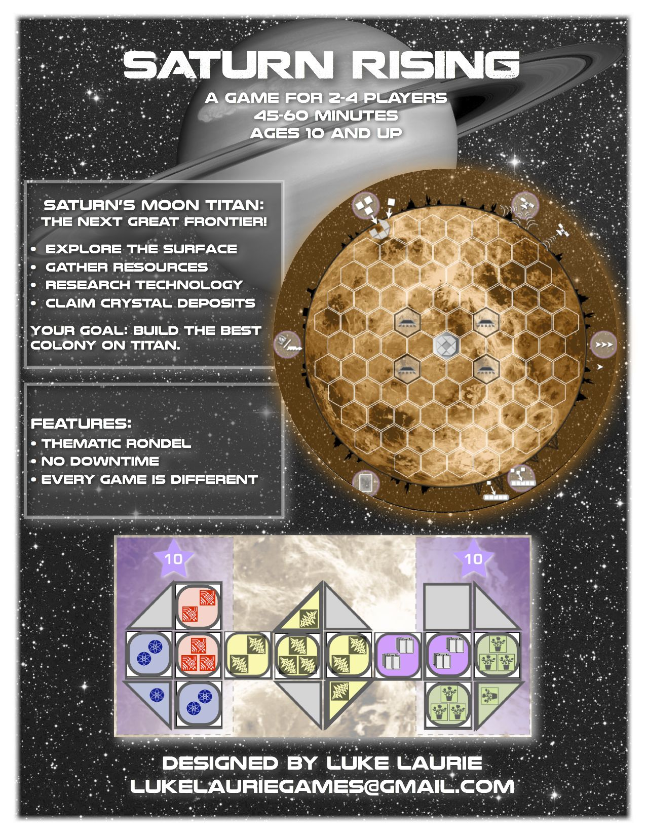Saturn Rising Sellsheet