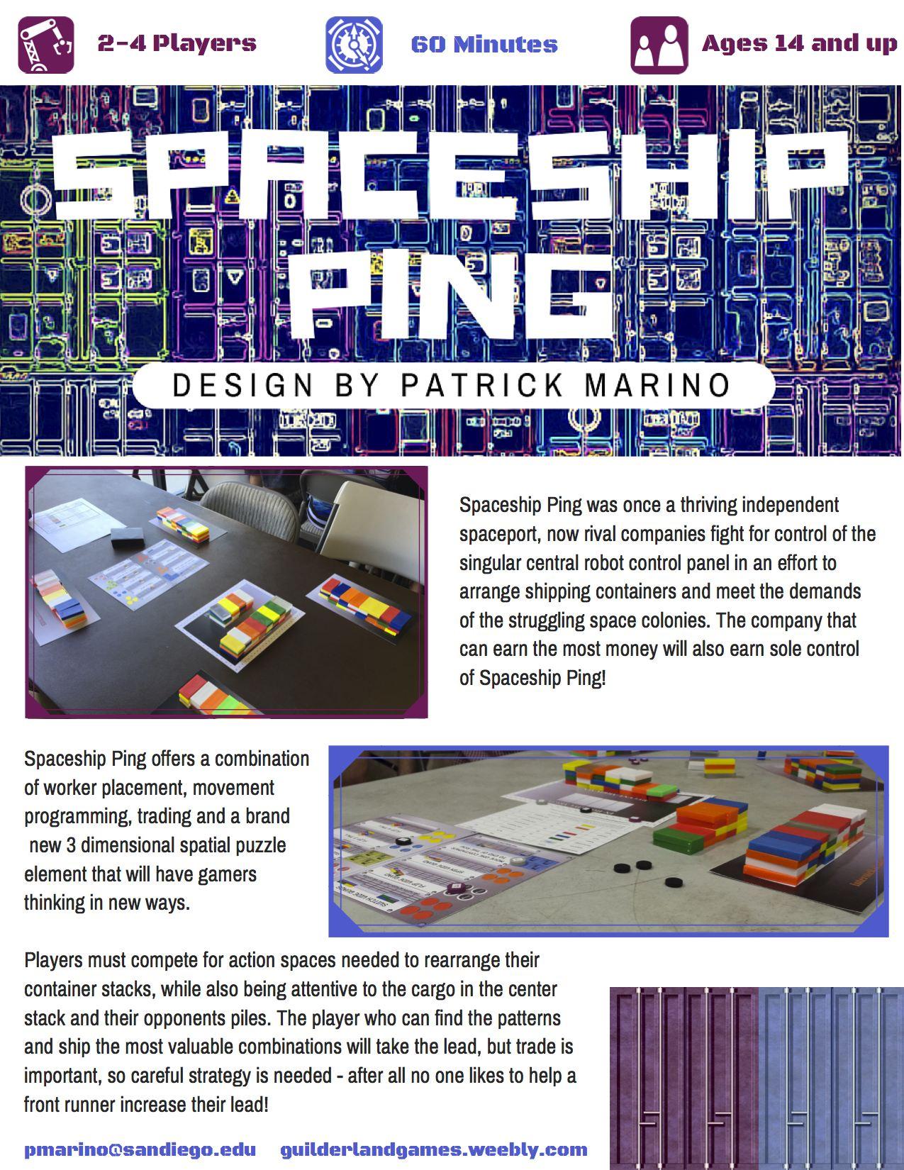 Spaceship Ping