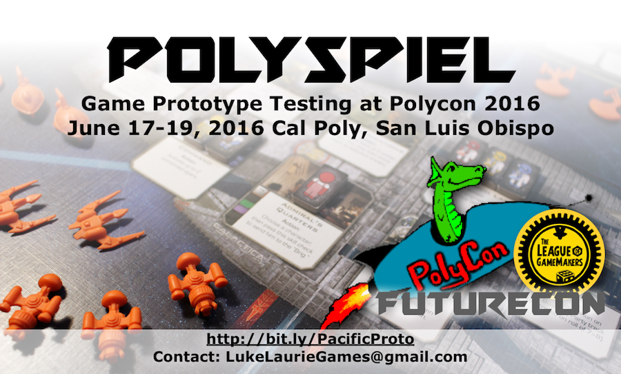 Polyspiel at Polycon, Playtesting in San Luis Obispo, CA