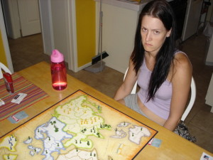 Games that prominently feature elimination like Risk can leave everyone feeling bad. Image from Board Game Geek.