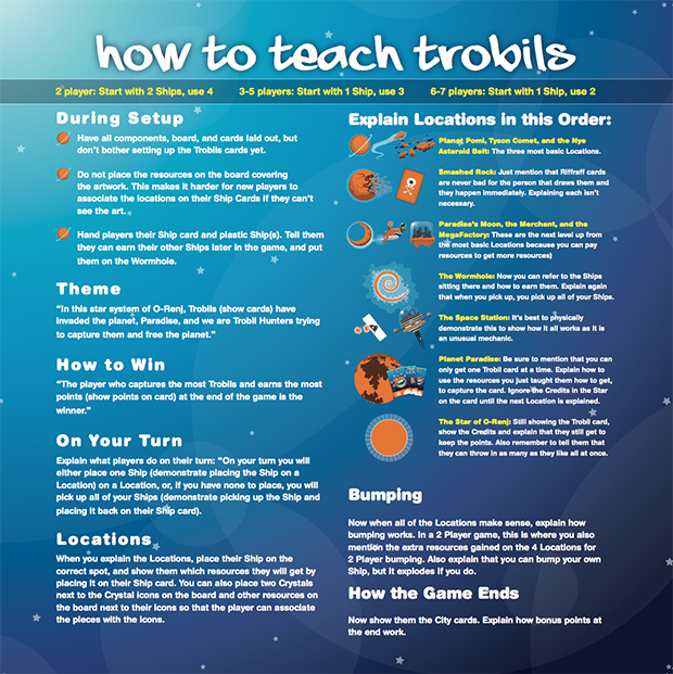 Asking for Trobils Teaching Page