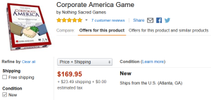 Ok, you still can get Corporate America, if you're willing to part with $170.
